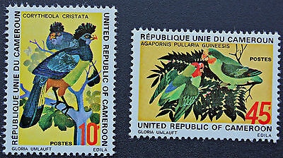 Timbre CAMEROUN / Stamp Cameroon - Yvert et Tellier n°534-535 n** (Cyn6)
