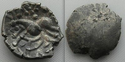 Collectable Example Of A British Silver Celtic Unit Coin / Corieltauvi Tribe