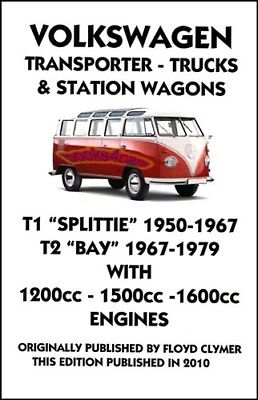 shop manual service repair transporter workshop volkswagen van vw rh picclick com 1967 VW Van Volkswagen T1