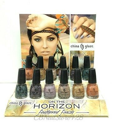 China Glaze Nail Lacquer- ON THE HORIZON Collection - Choose Any Color