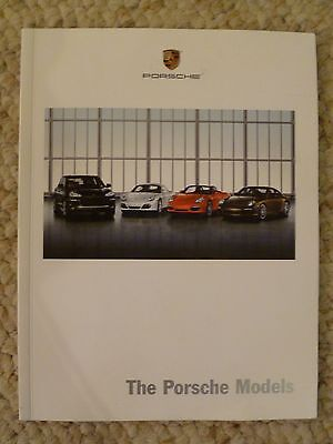 2008 Porsche Full Line Showroom Advertising Sales Brochure RARE Awesome L@@K