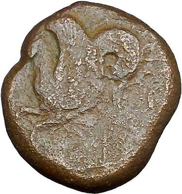 Syracuse in Sicily 344BC Timoleon Ancient Greek Coin Hippocamp Sea horse i33655