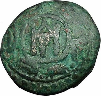 DEMETRIUS I Poliorcetes 294BC Ancient Greek Coin HELMET SHIELD i33680