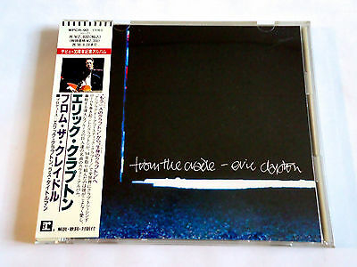 ERIC CLAPTON From The Cradle JAPAN 1st Press PROMO CD w/OBI 1994 WPCR-90