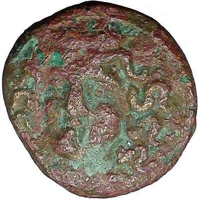 Larissa in Thessaly  350BC Ancient Greek Coin Nymph facing Horse Rare i33867