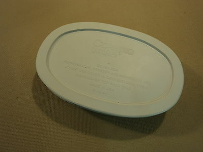 Corning Ware Stoneware Oval With Lid 15-oz French White F-15-B