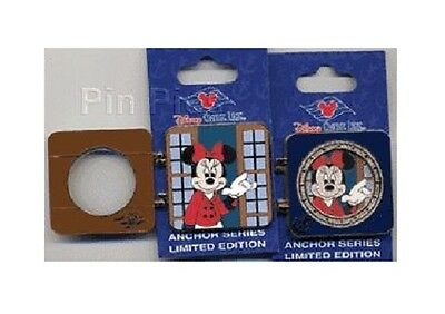 DCL - Anchor Series - Porthole Minnie Mouse - ARTIST PROOF PIN