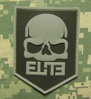 3D CALL OF DUTY MODERN WARFARE 3 RUBBER PVC PS3 ELITE BLACK OPS ACU VELCRO PATCH