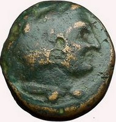 Alexander III the Great 336BC Ancient Greek Coin Hercules Bow Club i33618