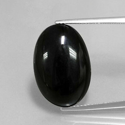 Masterpiece Collection: (1) AAA Rated Genuine Black Onyx Oval Cab (6x4-20x15mm)
