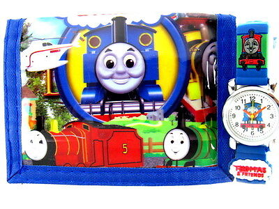 Thomas the tank engine percy james Children's Watch & Money wallet free shipping