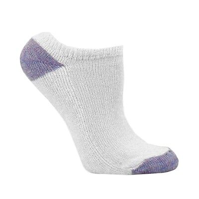 Fruit Of The Loom Girl's 10 Pair White Assorted Low Cut Ultra Soft Socks