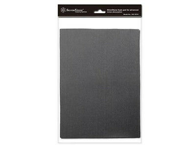 Silverstone SF01 Sound Dampening Acoustic Foam Material Black NEW!!!