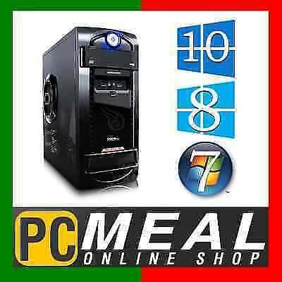 AMD Dual Core A4 7300 4.0GHz Max Gaming Computer 4GB 1TB HD8470D Desktop PC