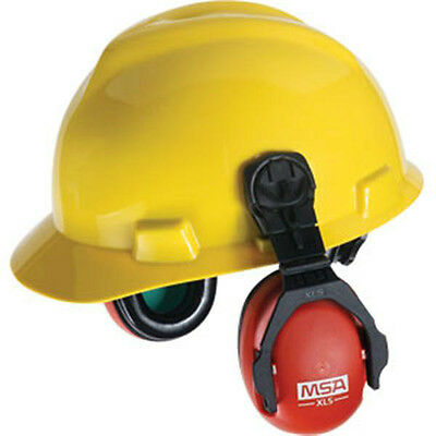 Earmuff, Xls, Cap Mount, Red, Msa 10061535