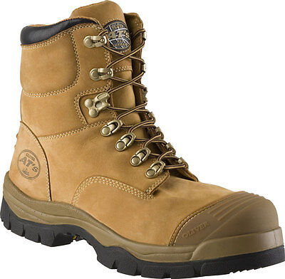 Oliver 55-232 (55232) Lace Up Safety Work Boot - With Toe Guard - Wheat