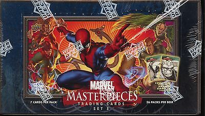 Upper Deck Marvel Masterpieces Series 3 Trading Card Box MINT Unopened