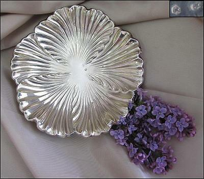 Vintage Spanish Silver Tabletop Candy Platter - Marked