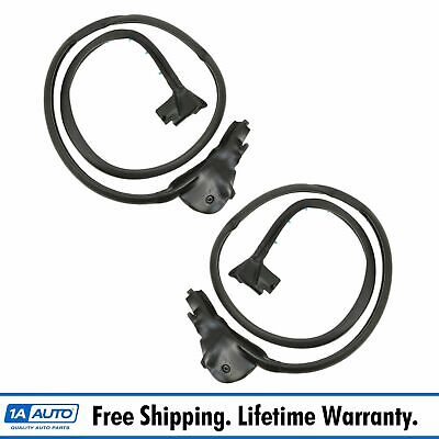 Set of 2 Targa Top Side Weatherstrip Seal Kit for Chevy Corvette 84-96 Pair Make Auto Parts Manufacturing