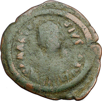 Anastasius I 491AD HUGE Ancient Authentic  Medieval Byzantine Coin  i34236