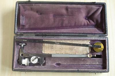 19C. Imperial Russia Cased Drafting Planimeter Set Drp