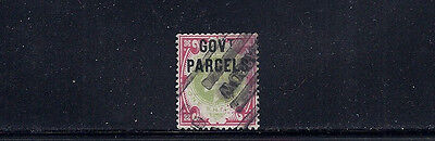 Great Britain Gb 1902 Officials (Government Parcels Sg O78) F/vf Used