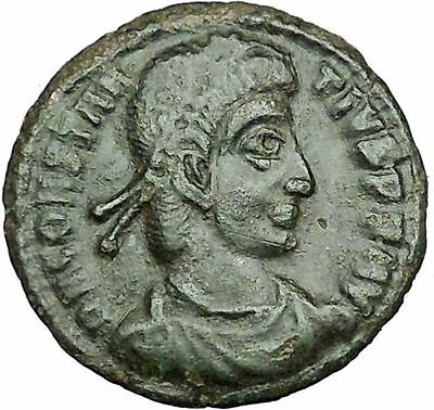 CONSTANTIUS II Constantine the Great son Ancient Roman Coin Horse man i34617