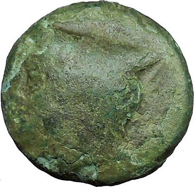 AINOS in THRACE 280BC Rare Authentic Ancient Greek Coin Hermes Caduceus i34310