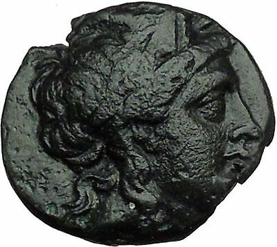 Antiochus I Soter 280BC Apollo Tripod Anchor Ancient Seleucid Greek Coin i34313