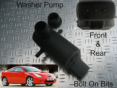 Front & Rear Washer Pump Toyota Celica 1999 2000 2001 2002 2003 2003 2005 2006