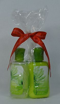 Bath & Body Works WHITE CITRUS Travel Size / Gift Bag 3 Pack Body Care