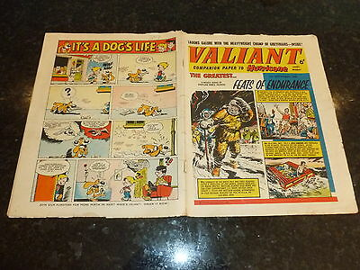 VALIANT Comic - (Companion to Hurricane ) - Date 05/09/1964 - UK Fleetway Comic