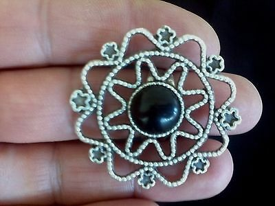 Turkish Made Silver Plated Adjustable Ring 4138