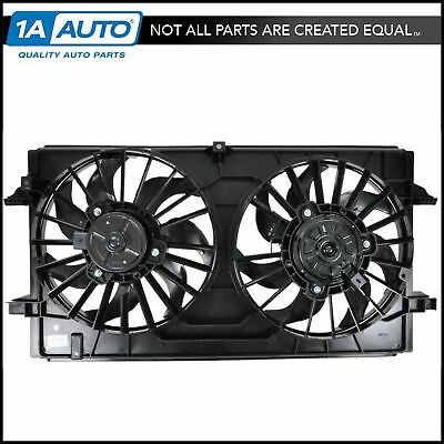 Dual Radiator AC A//C Condenser Cooling Fan Assembly Replacement for Infiniti SUV 21481CL80A