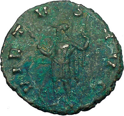 CLAUDIUS II Gothicus as Valour 268AD Authentic Ancient Roman Coin  i34761