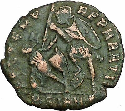 CONSTANTIUS II Constantine the Great  son  Roman Coin Battle Horse man  i34912