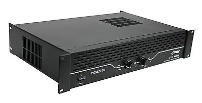 "PYLE PRO PQA2100 2100W 19"" Rack Mount 2 Channel Power DJ Amplifier Amp Stereo"