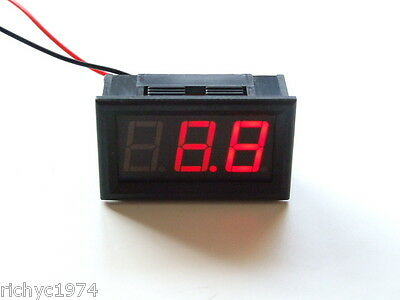 12v 24v VOLT METER LEISURE BATTERY CHARGING MONITOR INDICATOR CAMPER CARAVAN 4x4