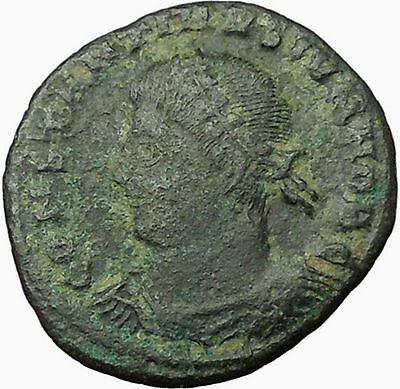 CONSTANTINE II Constantine I son Ancient Roman Coin Military Camp gate  i34999