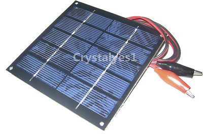 1.25W 5V 250mA Mini Solar Panel Module Solar System Solar Epoxy Cell Charger DIY