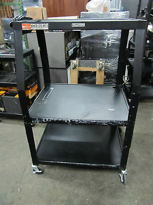 Heavy Duty Metal Roller Cart Table with wheels 33Lx38wx51H