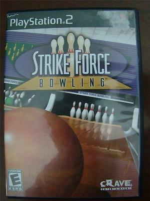 Playstation 2 PS2 Strike Force Bowling Replacement Case ONLY NO GAME