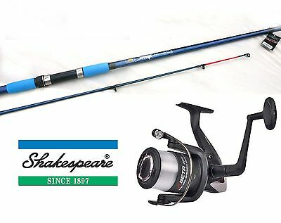 Shakespeare Beta reel & Vigor Beachcaster rod 12ft/3.6mtr 4-8oz Combo