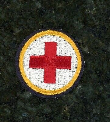 WWII British War Aide Sleeve Patch. Uncommon.