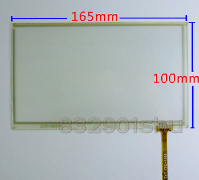 """Touch screen digitizer for 7""""TFT AT070TN90 AT070TN92 AT070TN93 panel glass #8u0"""