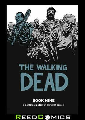 THE WALKING DEAD VOLUME 9 HARDCOVER New Hardback Collects #97-108 Robert Kirkham