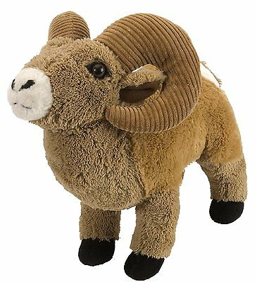 Big Horn Sheep 12 inch Plush stuffed animal by Wild Republic soft and cuddly NEW