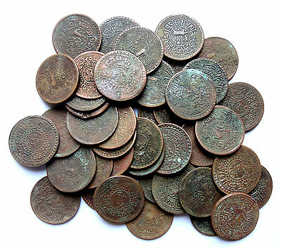 Tibet Theocracy Lot of 150 Pieces Old Coins, Before 1947