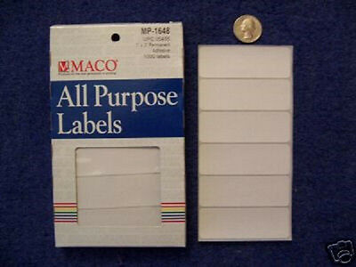 """2 Boxes of MS-1648 Removable Price Stickers 1"""" x 3"""""""