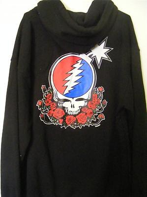 The Grateful Dead Steal Your Face Pullover Hoodie Size Xl X-Large Nwt